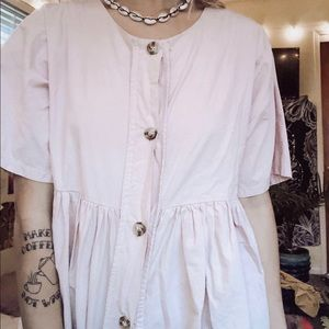 light pink Long Shirt
